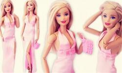 (6分娃衣制作)芭比娃娃迷你吊带晚礼裙,高位开叉礼服裙制作教程