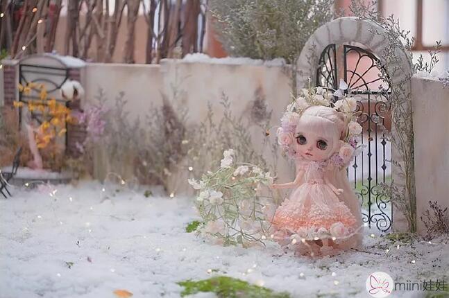 九姑娘改的小布blythe娃娃