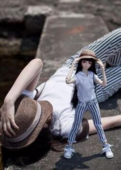 带着另一个自己(bjd娃娃)去生活和旅行,美图展示
