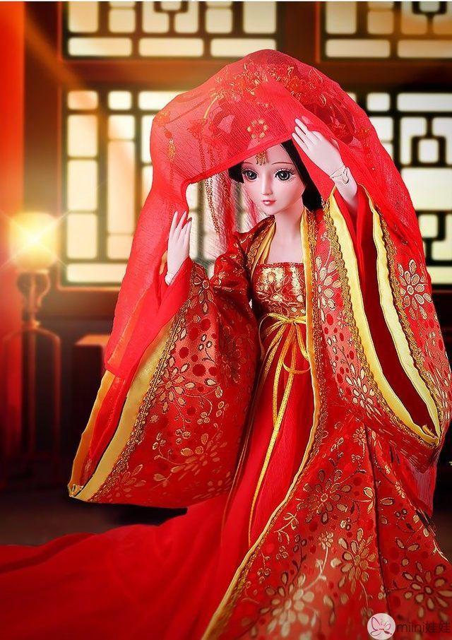 叶罗丽娃娃新娘