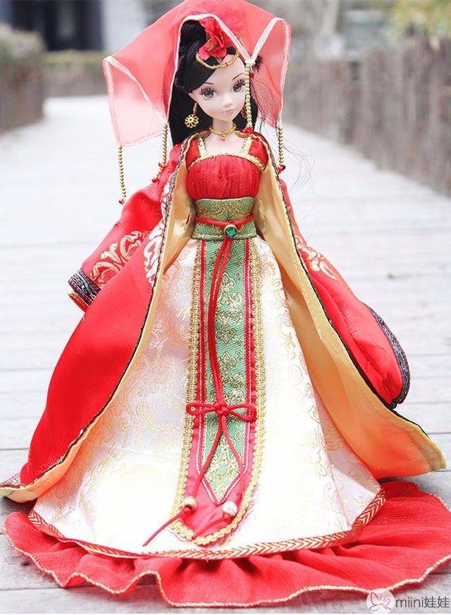 可儿娃娃新娘