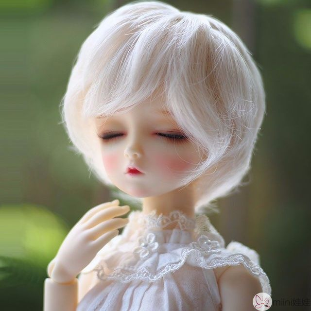 bjd娃娃发型PK
