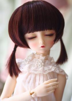 bjd娃娃发型PK,你喜欢哪款?