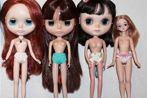 (洗白)小布Blythe娃娃基础科普知识,小布配的素体?