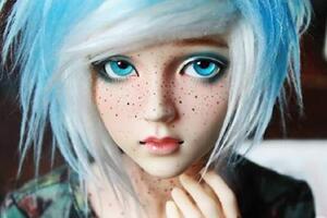 比芭比娃娃还漂亮的BJD娃娃,他们拥有独一无二的灵魂!
