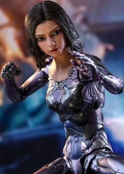 火星机甲术少女,HOTTOYS,战斗天使阿丽塔Alita,6分兵人娃娃