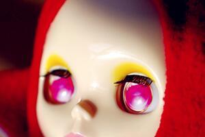 blythe小布娃娃不开脑也能换眼片教程,新手不想开脑的不要错过哦。