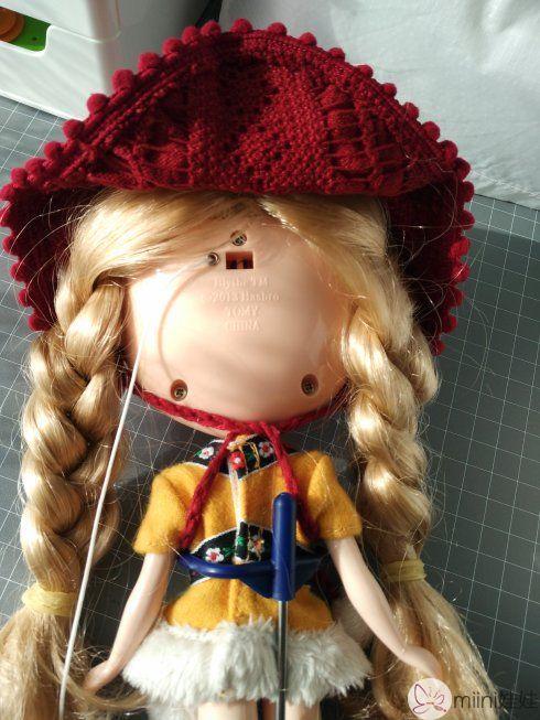 小布娃娃改睡眼