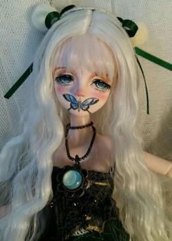 太太猫陌改妆可儿娃娃,太太妆头太好看了。