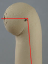 bjd娃娃自制肘关节和肩关节