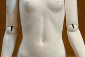 [拾柒]日本aimi的bjd娃娃自制教程-肘关节与肩关节