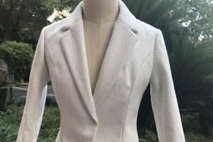 (3分娃衣制作)bjd娃娃修身女士西装上衣详细教程,职场白领。