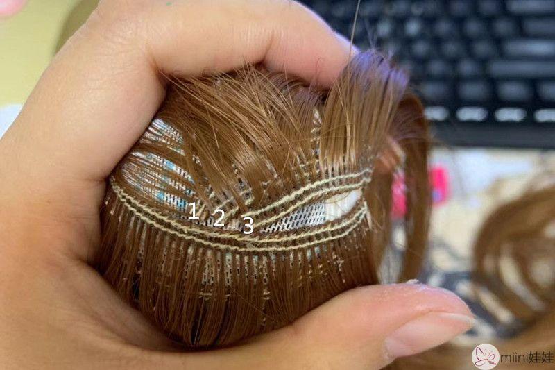 娃娃假发套