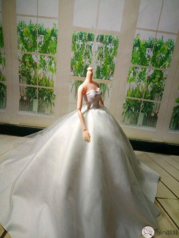 芭比娃娃婚纱