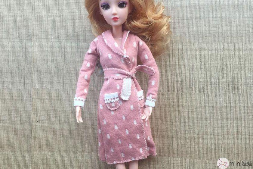 芭比娃睡袍
