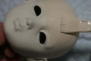 [贰拾壹]日本aimi的bjd娃娃自制教程-涂底漆