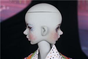 总有人说BJD娃娃可怕,因为是人偶吗?看看这个双面头吧