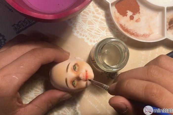 可儿娃娃光油