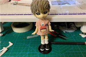 obitsu11娃娃,堆堆袜子制作教程,超级简单