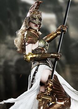 兵人娃娃,智慧女神雅典娜