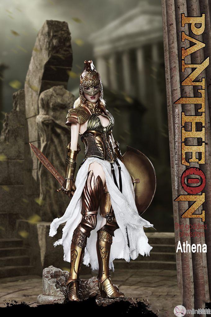 雅典娜兵人娃娃