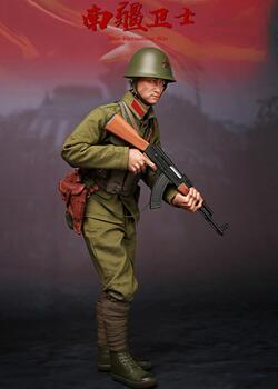 6分兵人娃娃,中国PLAY,南疆卫士