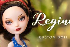 [娃改]Regina the Pin Up Girl 复古张贴画风娃娃改造