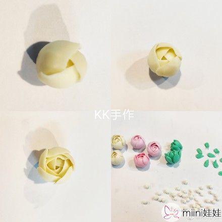 精美的粘土小花朵制作方法教学