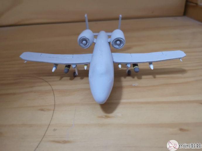超轻粘土轰炸机飞机做法
