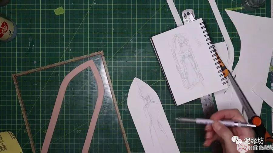 浮雕人像教程 | 古典少女 ,粘土教程