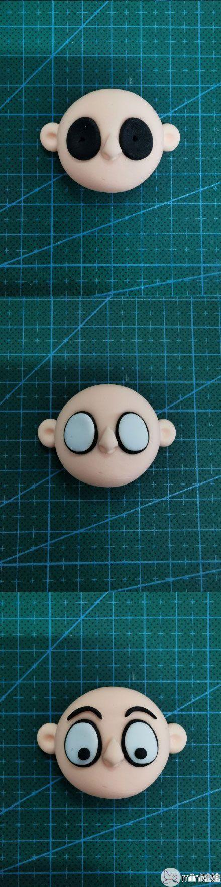 粘土可爱小哪吒玩偶手办做法