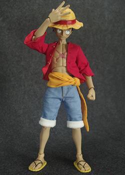 6分兵人娃娃,草帽小子,标准版+和之国版