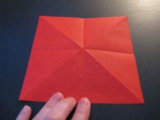 心心相印的心形折纸制作4