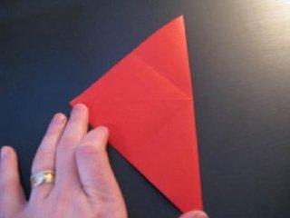 心心相印的心形折纸制作3
