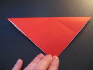 心心相印的心形折纸制作2