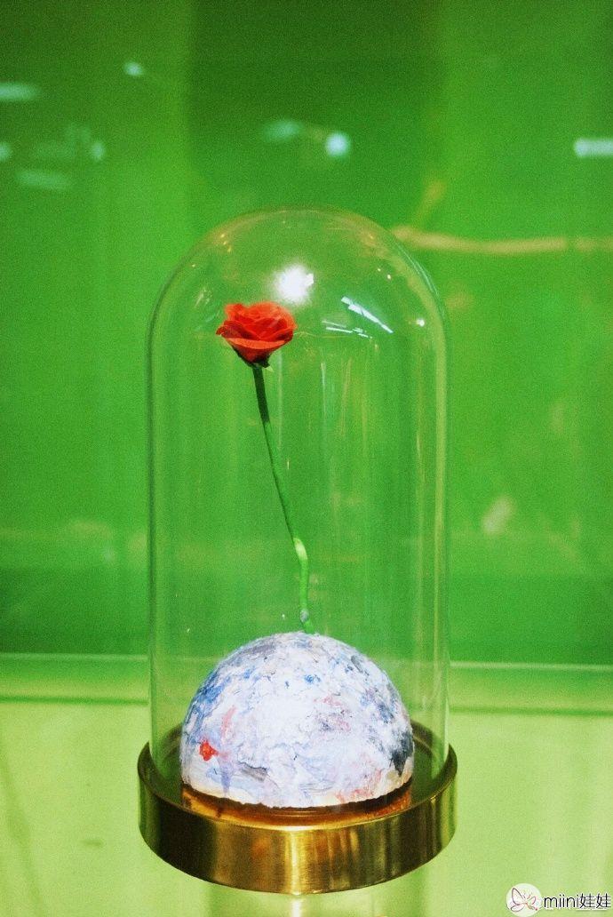 玻璃罩粘土小王子工艺作品制作步骤