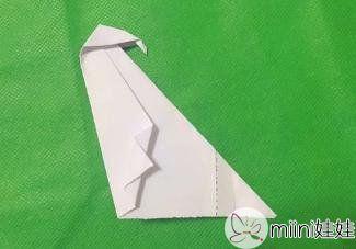 小企鹅的折纸步骤_小企鹅折纸教程