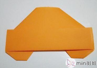 小汽车的折纸步骤教程