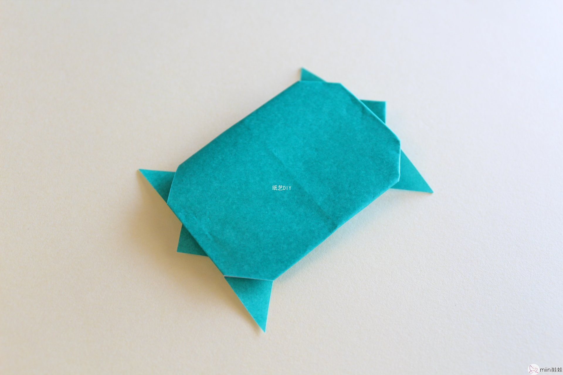 可爱有趣的小乌龟折纸教程