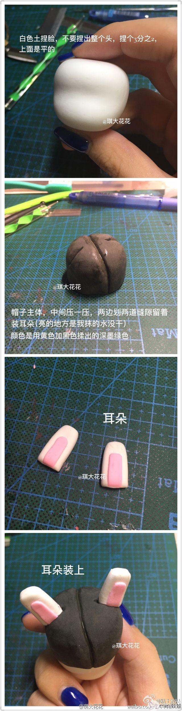 军装那兔<a href=http://www.miini.cn/search-0-495.html target=_blank class=infotextkey>粘土</a>人偶制作教程