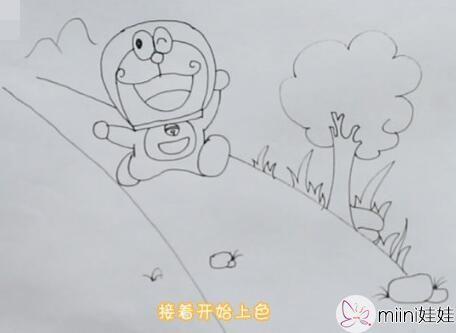 哆啦a梦简笔画怎么画?哆啦a梦简笔画绘画步骤