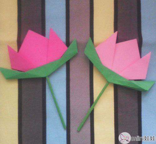 幼儿园最简单手工花朵
