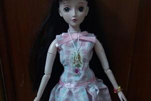 叶罗丽,娃衣简单的蓬蓬裙教程图解