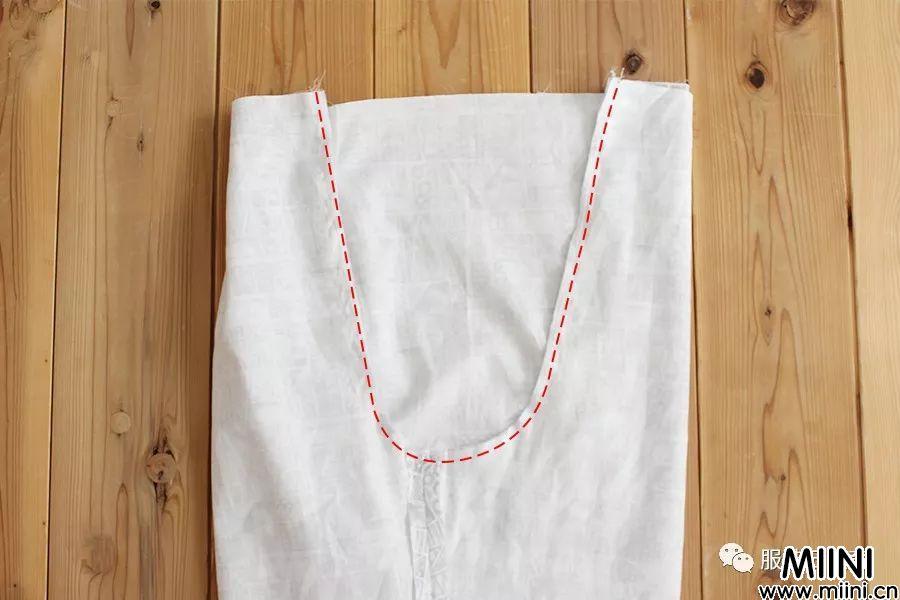 宽松灯笼裤的图纸和制作