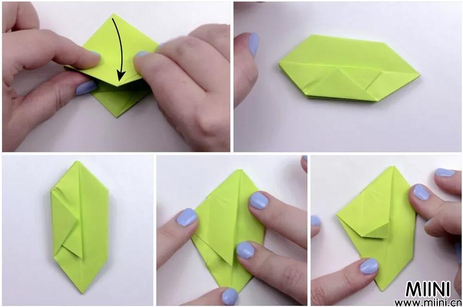 圣诞立体苹果折纸教程 苹果折纸怎么折?