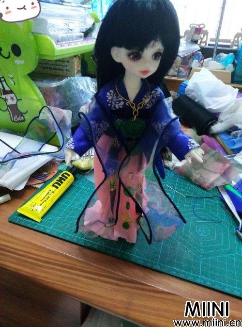 唐风襦裙娃衣