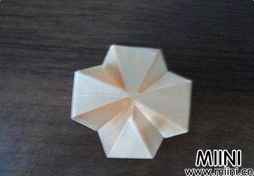 简单玫瑰花的折法7