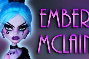 娃娃改妆,怪高娃娃改《幻影丹尼》中的Ember Mclain