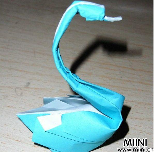 天鹅折纸步骤教程图解 天鹅折纸怎么折?