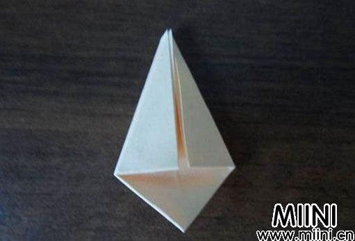 简单玫瑰花的折法2